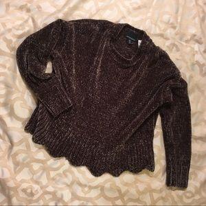 Cynthia Rowley Chenille Sweater
